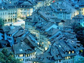 Bern-at-night